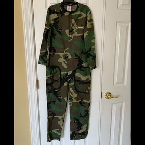 **U.S. Army Fatigues Halloween Costume Size Large